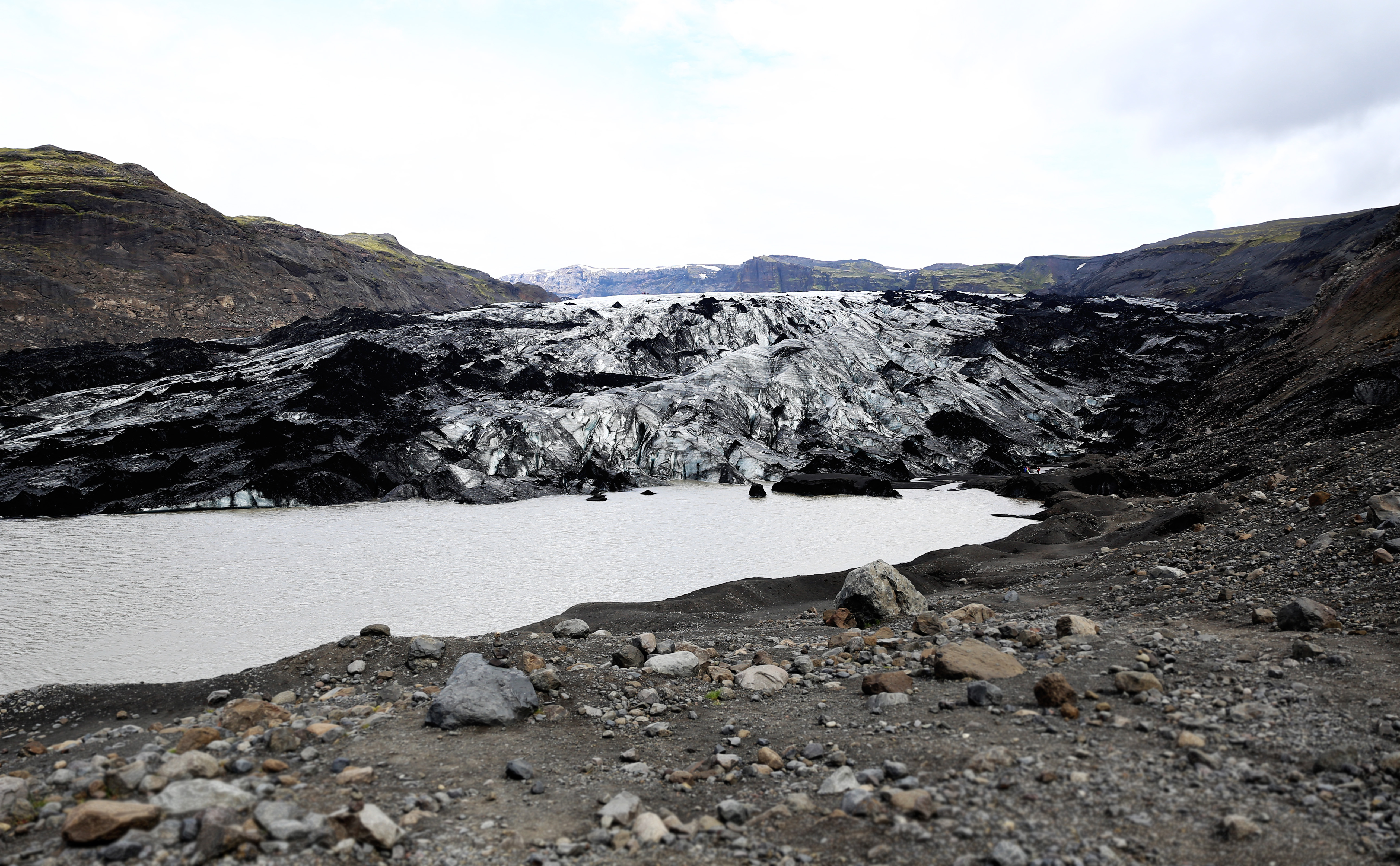 Island: Gletscher Eyjafjallajökull © Imke Haverbusch