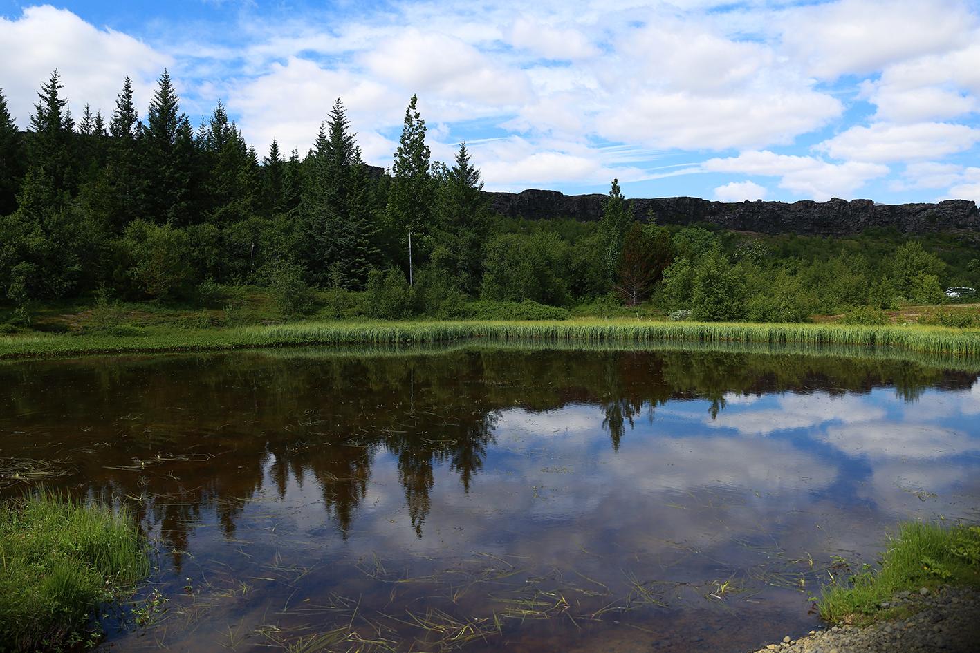 See im Þingvellir Nationalpark ©Katrin Brunk