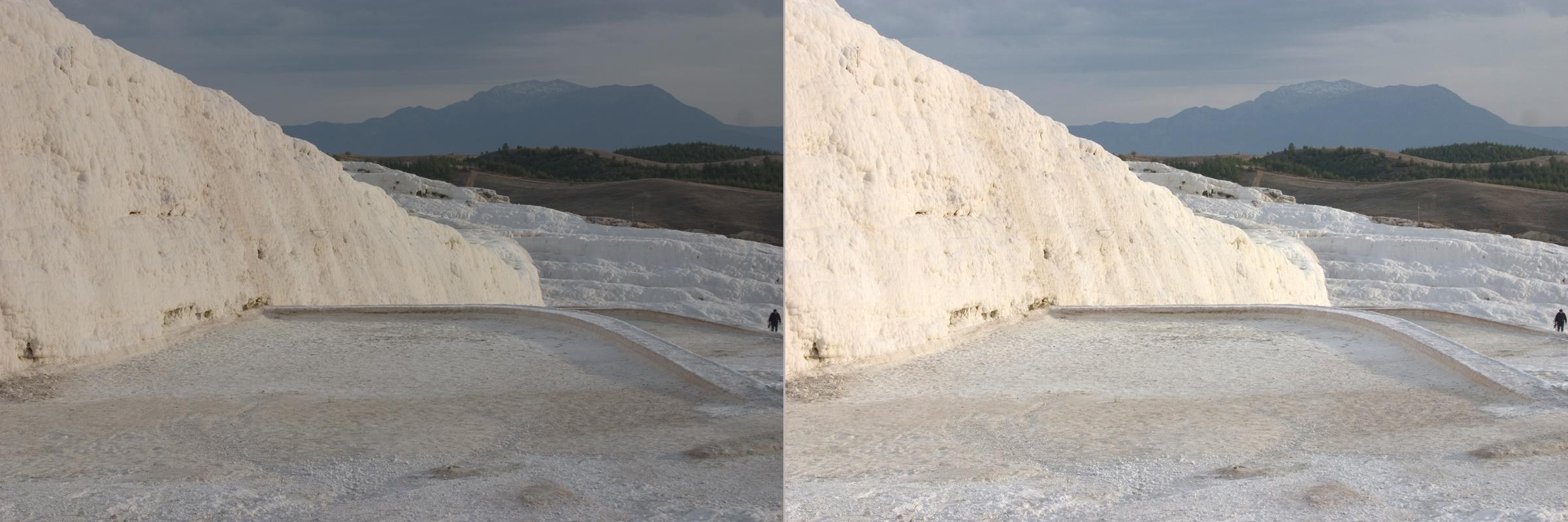 Vorher/Nachher: Belichtungskorrektur ©Bernd Kröger