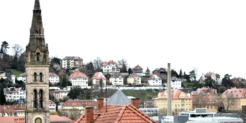 Städtefotografie Stuttgart: Blick über Dächer ©Imke Haverbusch