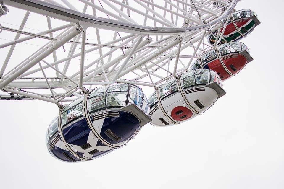 Reisefotografie: London Eye ©Christian Iberer