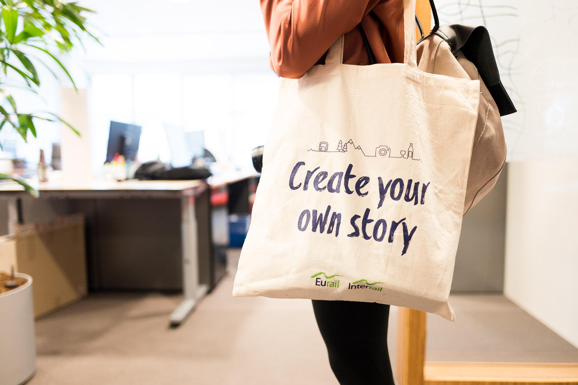 Create your own story – zu Besuch bei Interrail
