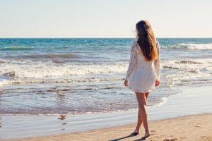 A la orilla del mar