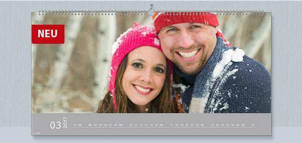 XXL Panorama matt digitaldruck Kalender