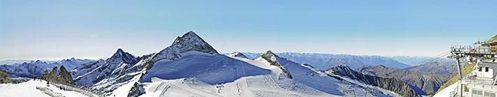 Gipfel Panorama perfekt in szene gesetzt