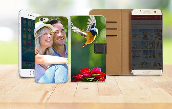 Handyhüllen für über 200 Smartphone-Modelle und neu für das Samsung Galaxy S8