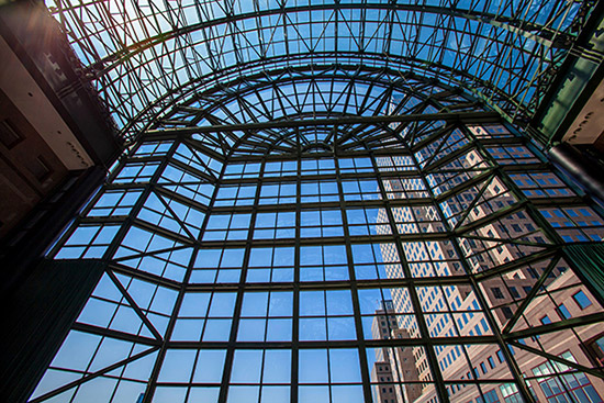 Das Winter Garden Atrium im World Financial Center