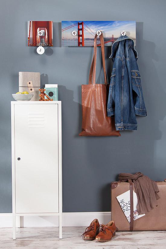 Eine Garderobe an die man gerne seine Jacke hängt