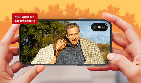 Ein Smartphone Case und Sie haben den Herbst immer dabei