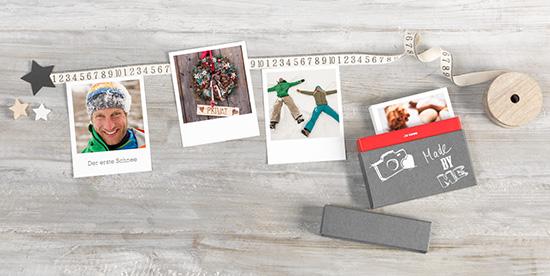 Gestalten Sie Ihren selbstgemachten Adventskalender mit Retro Prints
