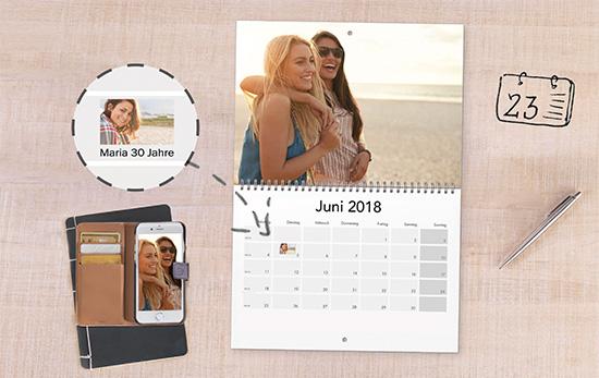 Immer alle Termine auf einen Blick mit unseren Terminkalendern