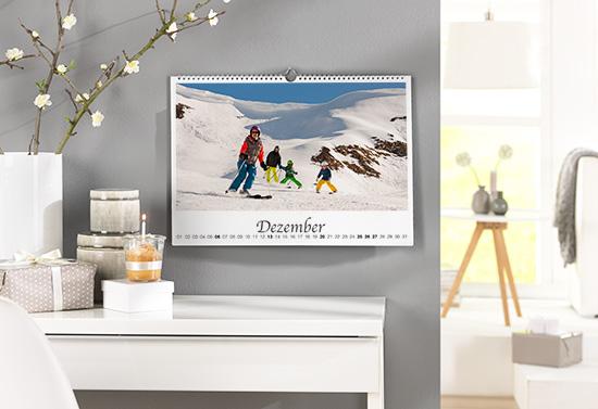 Ein Fotokalender als ganz persönliches Geschenk