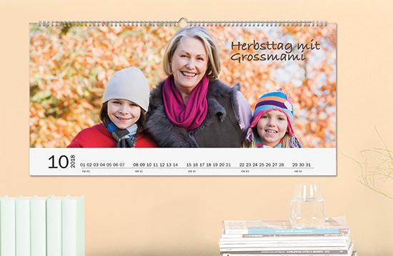 Unsere Wandkalender eignen sich besonders als Geschenk mit den schönsten Fotos