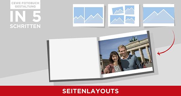 Wie man mit Seitenlayouts ein Fotobuch strukturieren kann