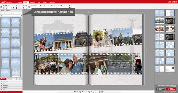 Ziehen sie verschiedenen Rahmen auf Ihre Fotos, um sie zu vergleichen
