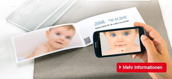 Meine CEWE CARDS mit Video – noch persönlicher Teilen Sie Ihre Freude jetzt auch in bewegten Bildern