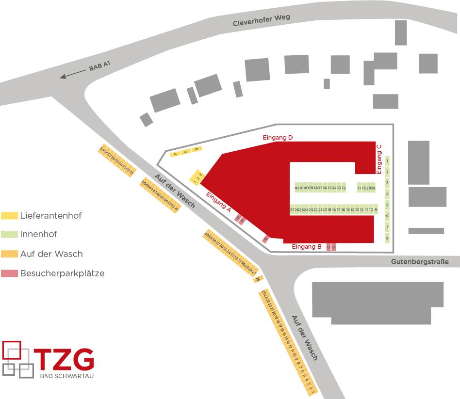 TZG - Parkplätze