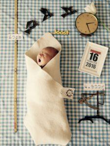Kreatives Babyfoto