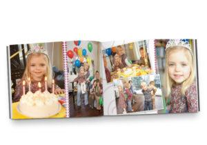 Beispielbild des CEWE Fotobuch, mini