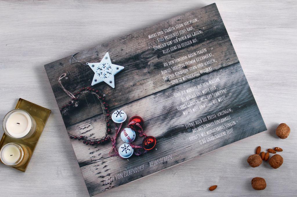 Selbstgestalteter Adventskalender mit kinder® Schokolade