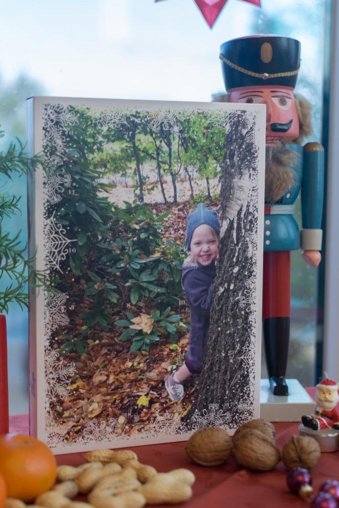 Adventskalender mit eigenem Kinderbild
