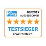 Das CEWE FOTOBUCH wurde von PCtipp als Testsieger ausgezeichnet